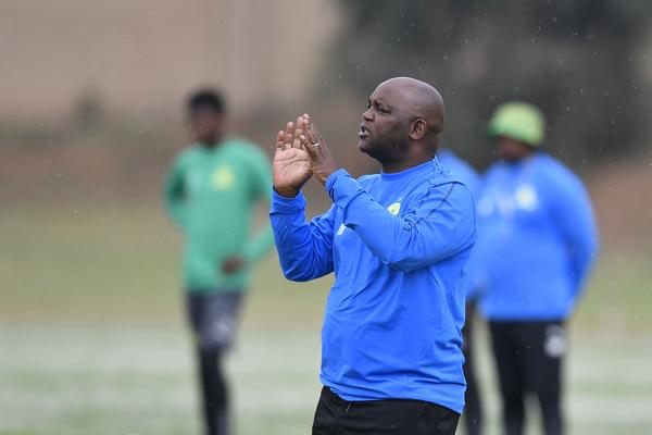 Mamelodi Sundowns head coach Pitso Mosimane (Photo by Lefty Shivambu/Gallo Images)