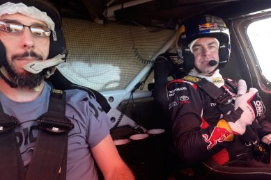 Rally drivers can take a bow