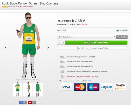 Reeva Steenkamp foundation not laughing at Pistorius Halloween costume