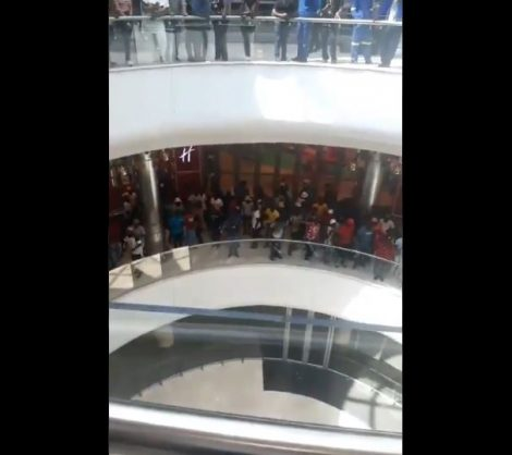 WATCH: Dis-Chem employees move protest action to Mall of Africa