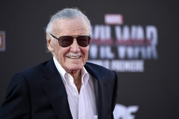 Legendary comic book writer, editor and publisher Stan Lee. Picture: Getty Images / AFP.