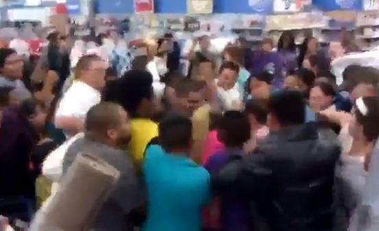 WATCH: Total Black Friday chaos