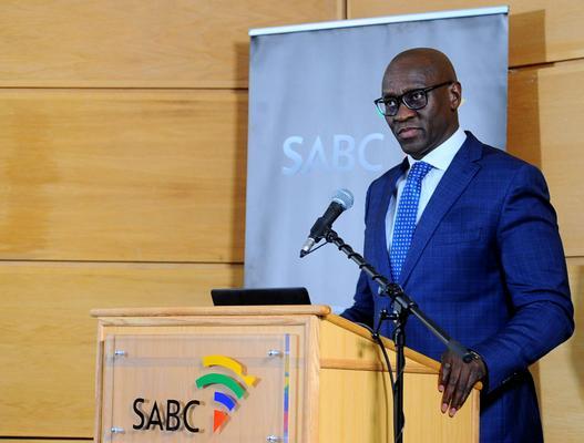 SABC CEO Madoda Mxakwe. Image: Bhekikhaya Mabaso/ANA