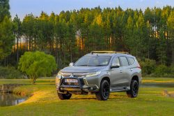 Here's the new limited-edition Mitsubishi Pajero Sport Shogun