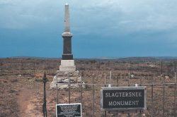 Slagtersnek Rebellion: Don't mention the war