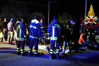 Stampede at Italian nightclub kills six, injures dozens