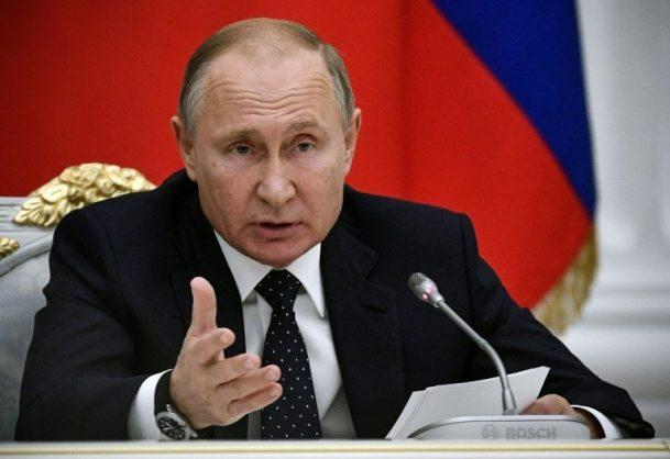 Russian President Vladimir Putin. Picture: POOL / AFP / File / Alexander NEMENOV