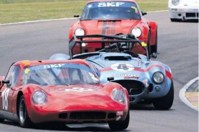 Four periods of motorsport