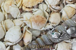 WIN A SET OF SILVER GHOST CRAB EARRINGS WORTH R2 900!