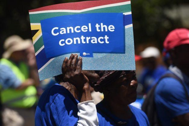 Democratic Alliance supporters. Picture: Nigel Sibanda