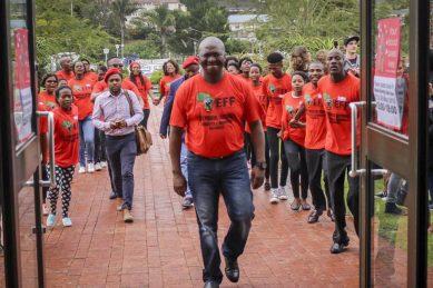 Khasiane Ntloko, mother of EFF's Fana Mokoena, passes away