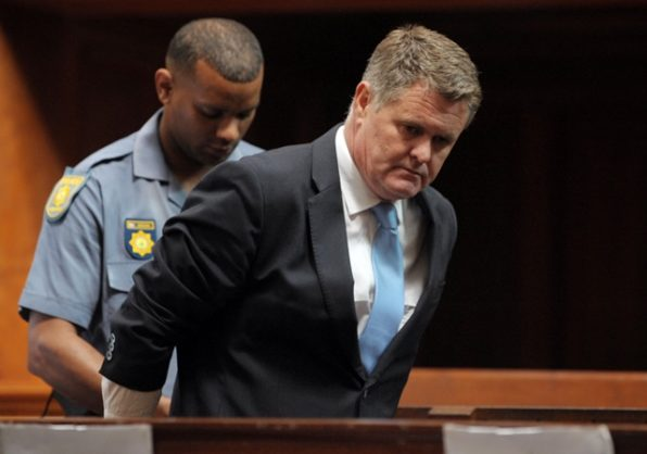 Jason Rohde, the businessman convicted of murdering his wife, arrived at the high court in Cape Town on 5 December 2018 to listen to evidence in his sentencing proceedings. Picture: Armand Hough / African News Agency (ANA)