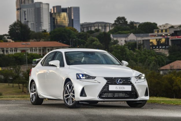 Lexus pushes greener gear with new IS hybrid