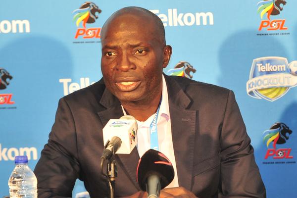 Wedson Nyirenda, coach of Baroka FC (Deryck Foster/BackpagePix)