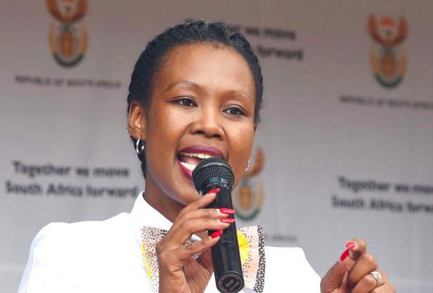 Minister of Communications Stella Ndabeni-Abrahams | Image: Twitter /@TVwithThinus