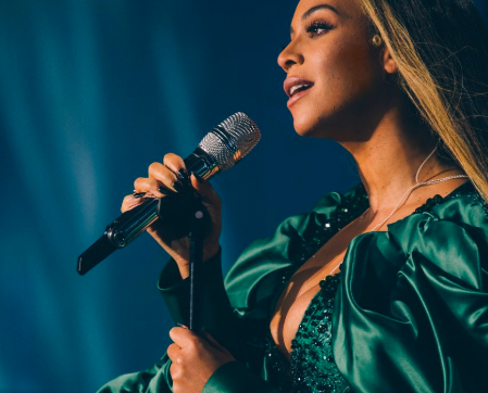 Beyonce on stage at the Global Citizen Mandela 100 Festival, Sunday 2 December | Image: Driely S. Carter