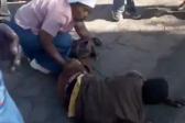 WATCH: Commuters beat up train-jumping 'tsotsi'