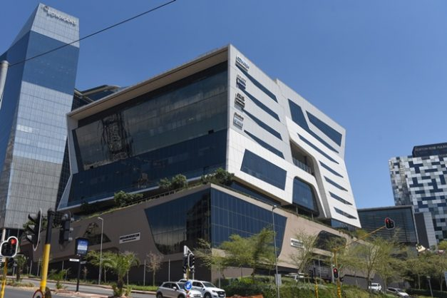 The 11 Alice Lane group of buildings in Sandton, commonly referred to as Standard Bank. Picture: Refilwe Modise