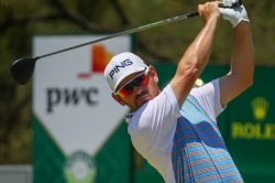 A win at Randpark would put Oosthuizen in elite company
