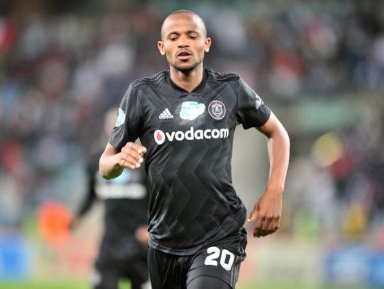 Xola Mlambo of Orlando Pirates (Samuel Shivambu/BackpagePix)