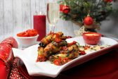 Recipe: Chicken wings with blue cheese sauce