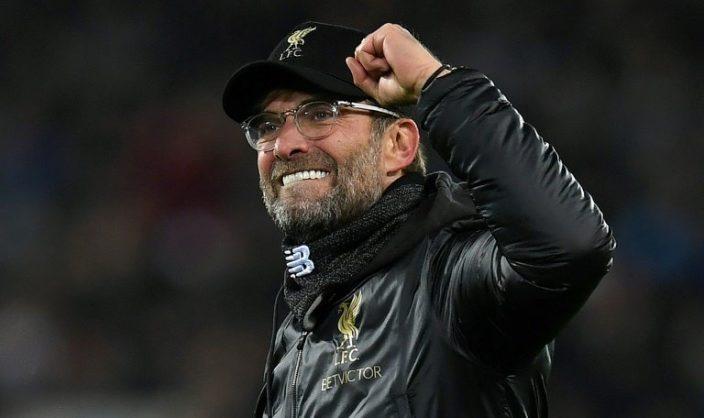 Liverpool's Jurgen Klopp are unbeaten in 19 Premier League games this season. AFP/Paul ELLIS