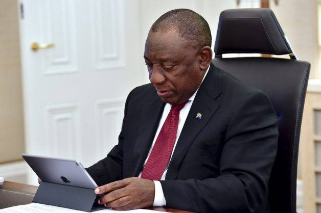 South Africa's President Cyril Ramaphosa. One of the biggest obstacles to his success is the party he leads, the ANC. Picture: Fllickr/GCIS