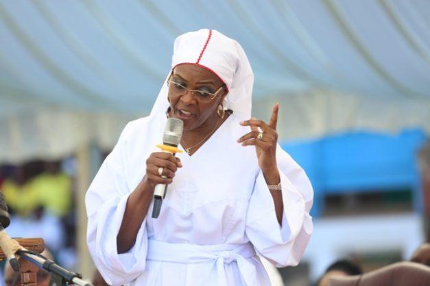 Former Zimbabwean First Lady Grace Mugabe. Picture: EPA-EFE/AARON UFUMELI
