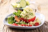 Recipe: Couscous with spinach and tomato
