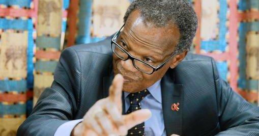 IFP leader Mangosuthu Buthelezi. Image: Twitter/@ViljoenJules