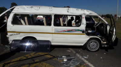 15 injured as taxi rolls on N3 outside Ladysmith