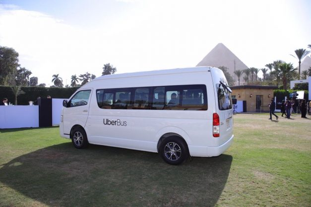The recent launch of the Uber Bus in Egypt had South Africans worried that the Mzansi taxi industry would not take kindly to it. Image: Twitter/@Uber_Egypt
