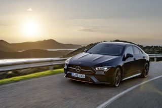 New Mercedes-Benz CLA is a real beauty