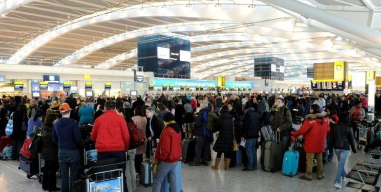 London Heathrow is Europe's busiest airport in terms of passenger numbers. AFP/-