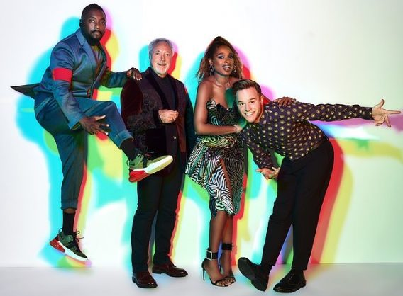 The Voice Uk coaches. Picture: ITV