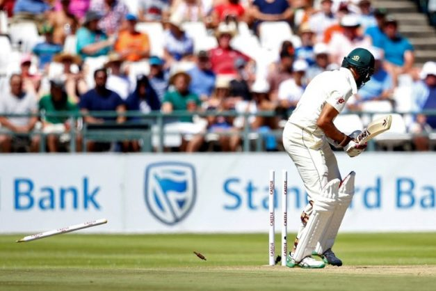 South Africa moved into a first innings lead during a tense second morning of the second Test against Pakistan at Newlands. AFP/GIANLUIGI GUERCIA