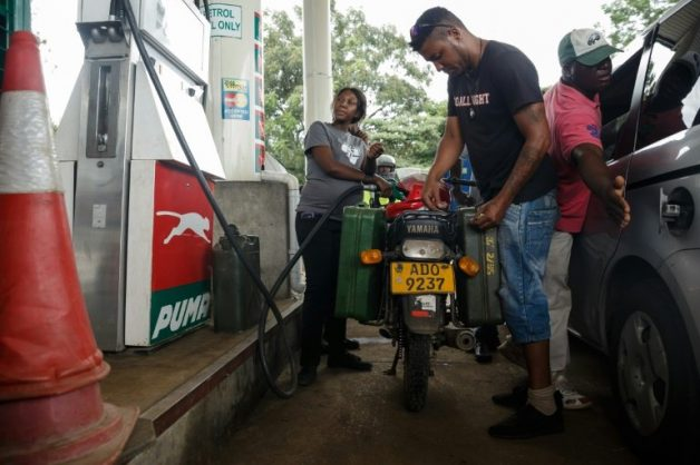 Zimbabwe unions to strike as fuel prices more than double