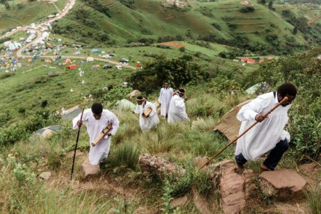 Shembe church members make annual pilgrimage to holy mountain