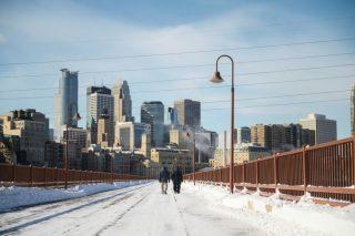 Colder than Antarctica: brutal deep freeze grips US Midwest