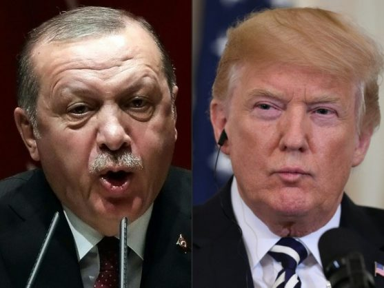 Fighting impeachment at home, Trump surrenders in Syria