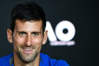 This time it's real: Djokovic faces practice pal Pouille for place in final