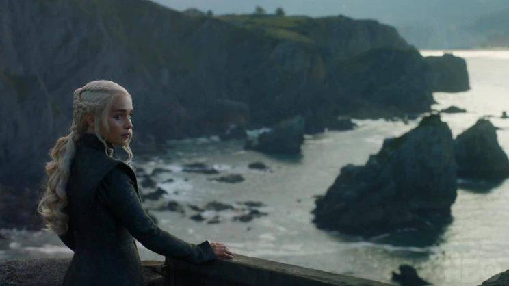 Emilia Clarke as Daenerys Targaryen  in season seven of Game of Thrones. Picture: HBO