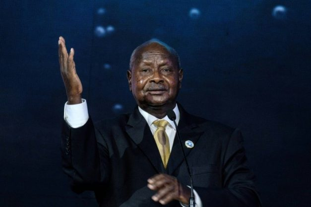 Uganda's President Yoweri Museveni could seek re-election for a sixth term in 2021 under the constitutional court's decision to remove an age-limit cap for presidential candidates. AFP/File/Yasuyoshi CHIBA
