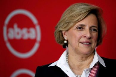 How much Maria Ramos got paid on leaving Absa