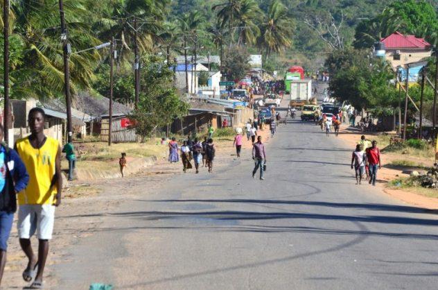 Macomia, a small town in northern Mozambique. Picture: AFP / File / Emidio JOSINE