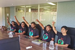 BLF stages sit-in at inquiry to demand suspension of Zondo Commission secretary