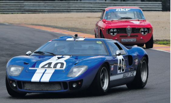 CLASSIC FORD. Peter Baily will drive one of several Ford GT40 entries in the Castrol Tourist Trophy race. Pictures: RacePics