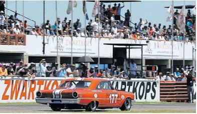 PASSION AND CLASSIC RACERS. Saturday's races for SKF Pre-1966 Legend Saloon Cars should have a capacity Zwartkops crowd on its feet.