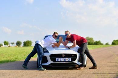 Mark and Gavin Cronje to square up at the Jaguar Simola Hillclimb