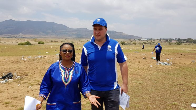 DA finds thousands of confidential government documents dumped in Free State field